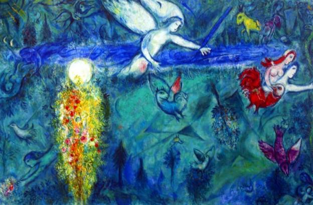 Chagall_Vertreibung-aus-dem-Paradies